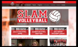 Junior Volleyball Sports Website