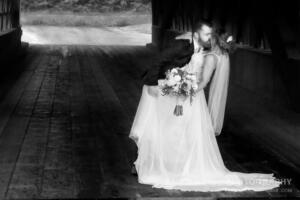 Wedding Couple Black & White